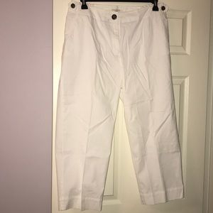 Chino pants with stretch back panels from Talbots